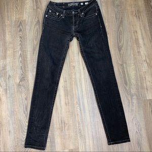 Miss Me Black Skinny Jeans